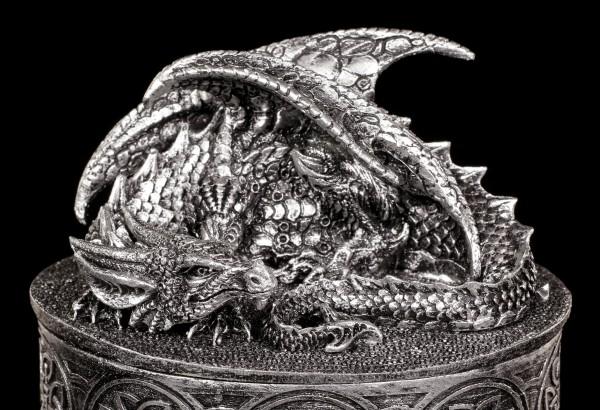 Dragon Box - My Valuables - Silver colored