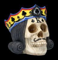 Skulls Set of 4 - Poker Kings