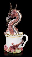 Dragon Figurine - Hot Chocolate by Stanley Morrison
