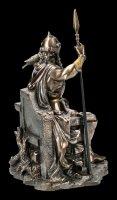 Odin Figurine sitting on Throne