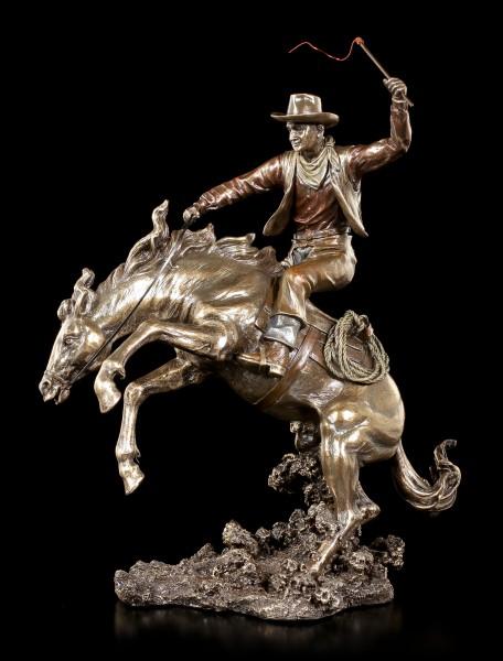 Cowboy Figurine - Wild Rodeo Ride