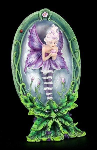 Sommer Elfen Figur - Aestas mit Waldgeist