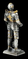 Pewter Knight Figurine with Mace