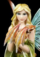 Fairy Figurine - Daleone with two Dragons
