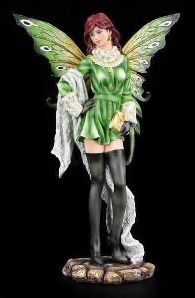 Fashion Elfen Figur - Nadya mit weißem Schal