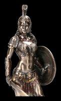 Warrior Figurine - Amazon with Sword and Shield