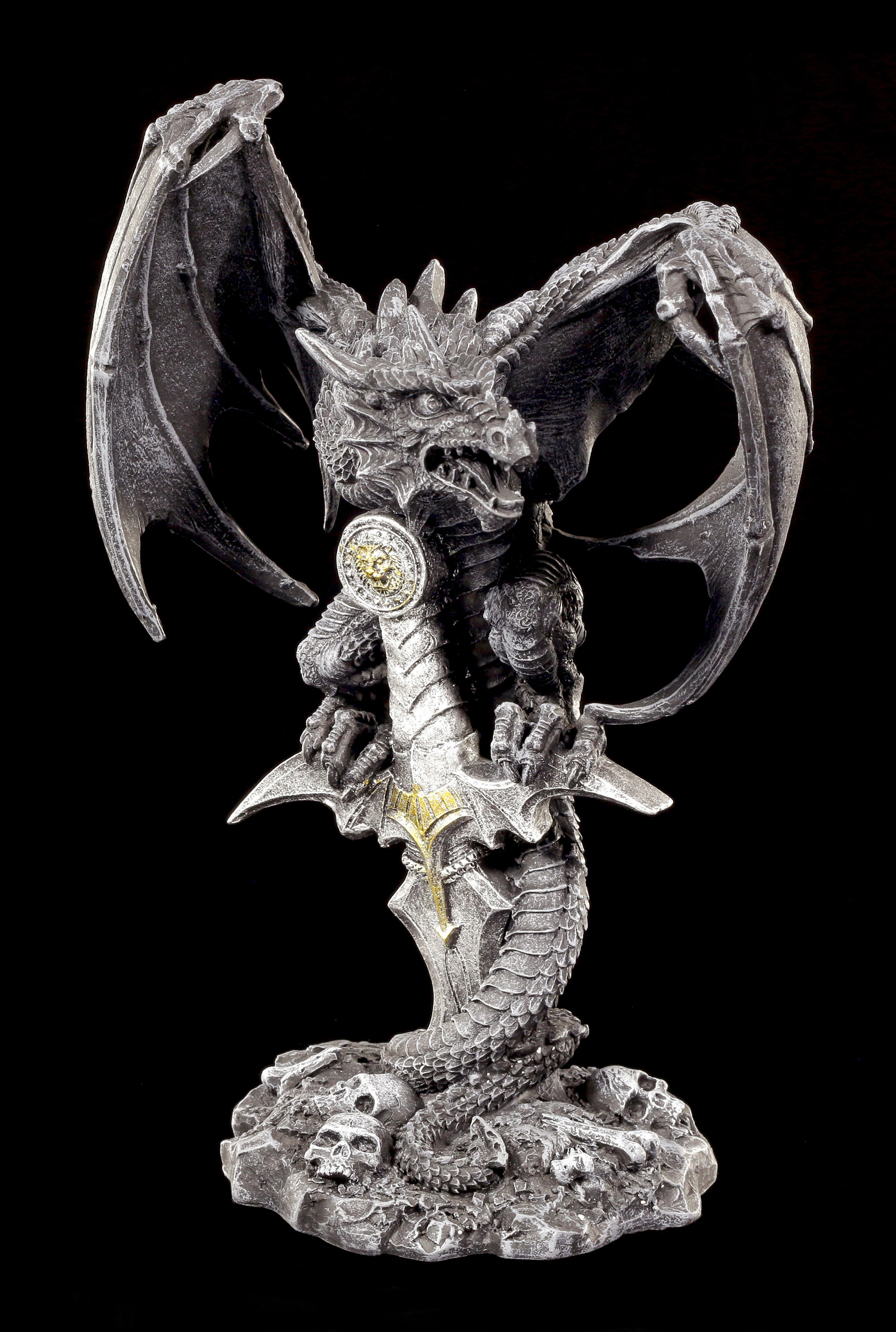 The Drachen Sword Figur And Dragon nm0wN8