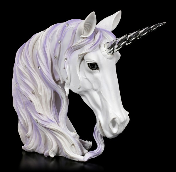 Unicorn Bust - Jewelled Magnificence large