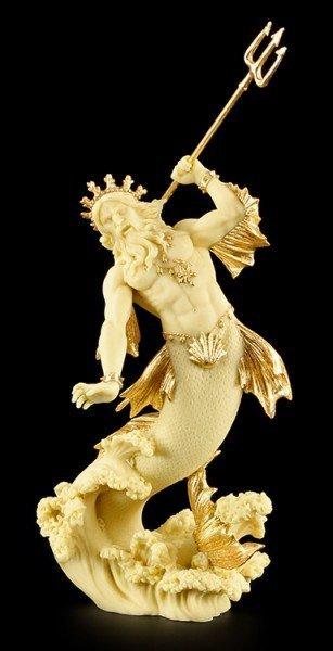 Poseidon Figur - Gott des Meeres