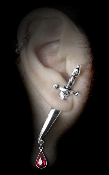 Cesare's Veto - Alchemy Gothic Earring
