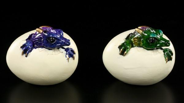 Dragon Baby with Egg - Set of 2