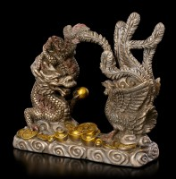 Feng Shui Figurine - Dragon with Phoenix