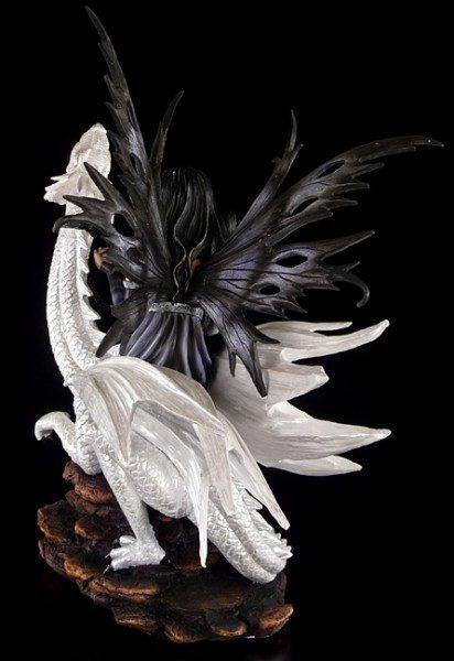 Big Fairy on white Dragon - Imperium Ramayana