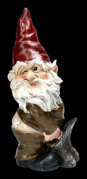 Gnome Figurine - Having A Widdle