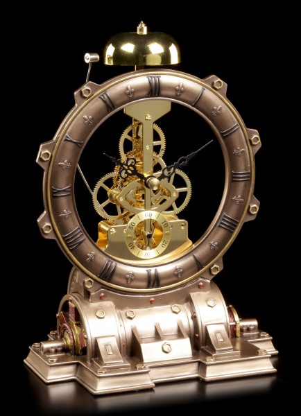 Table Clock - Steampunk Time Machine