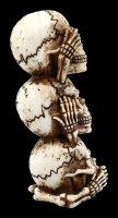 Skull Totem - No Evil