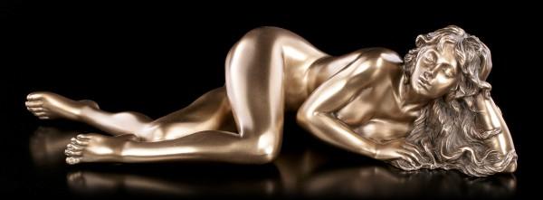 Female Nude Figurine - Alexandra bronzed