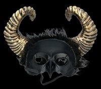 Steampunk Mask - Dark Raven God