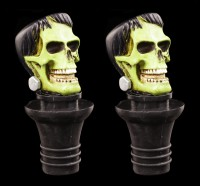 Bottle Stopper Set of 2 - Frankenstein