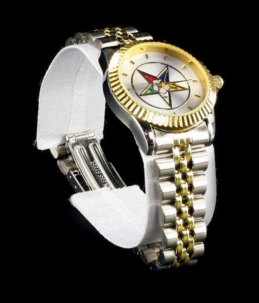 Armbanduhr - Freimaurer Stern des Ostens