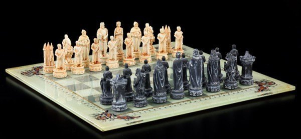 Ritter Schachspiel - Mittelalter
