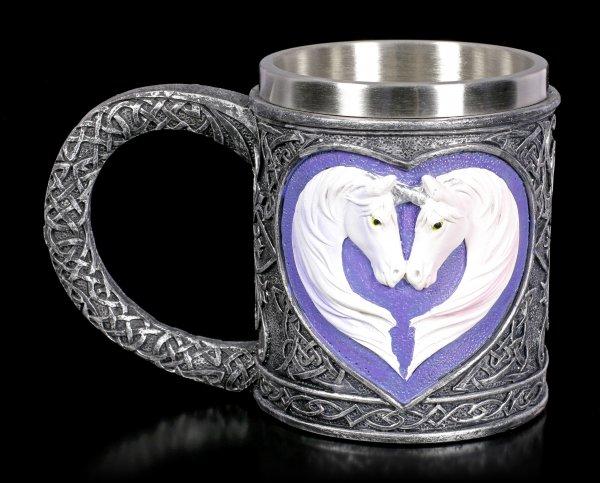 Fantasy Tankard - Unicorn Couple