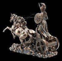 Athena Figurine on Chariot