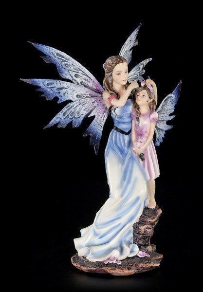 Elfen Figur - Mary mit Tochter