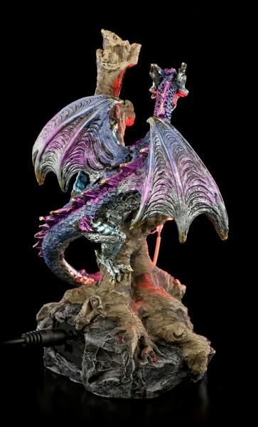 Dragon Figurine with LED - Woodland Defender