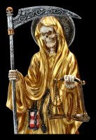 Santa Muerte Figurine - Gold colored
