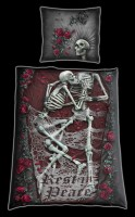 Rest in Peace - Single Duvet Cover with Pillow Case