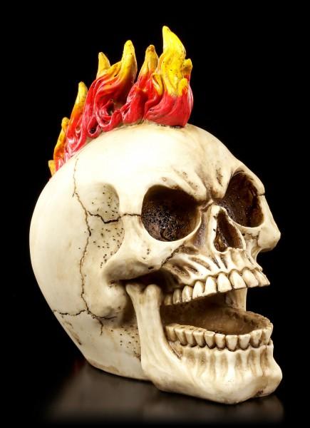 Vorschau: Totenkopf - Flammen Punk