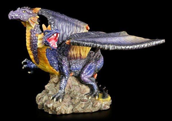 Drachen Figur - Zweiköpfiger Drache