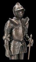 Stehende Ritter Figur mit Schwert