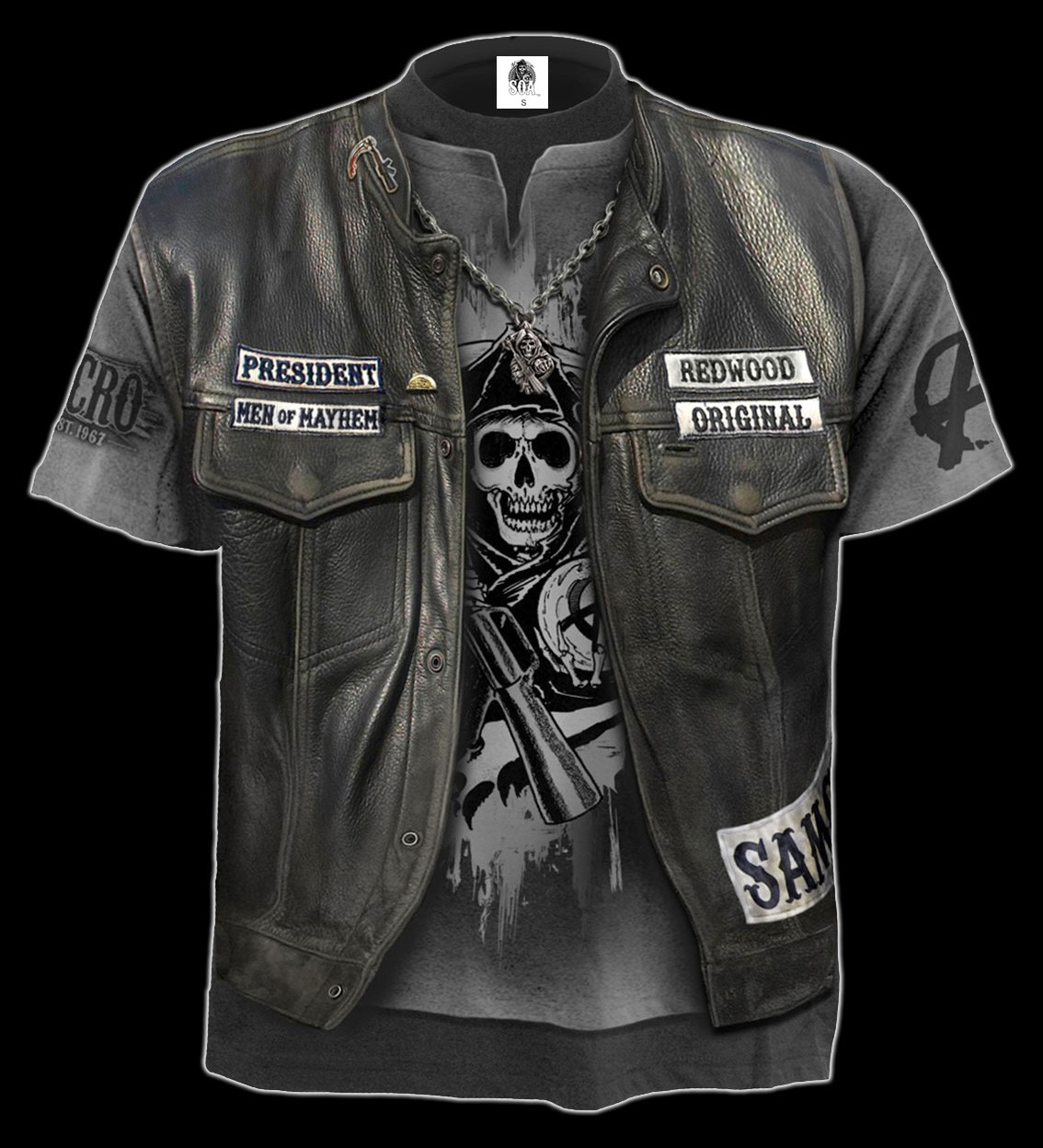 Sons of Anarchy T-Shirt - Jax Kutte
