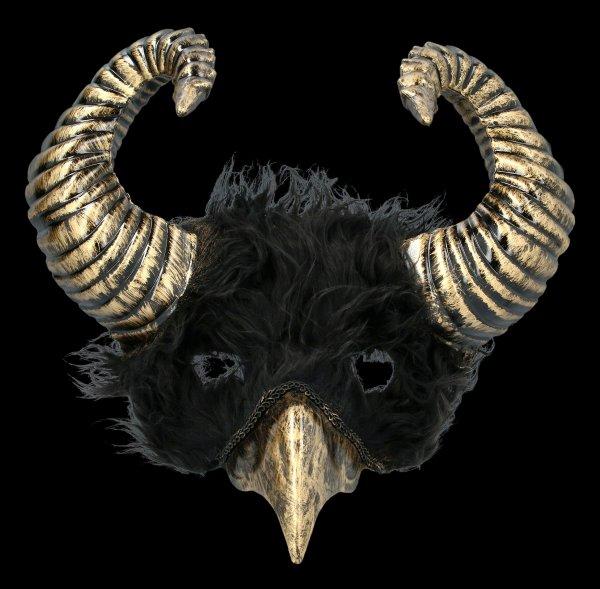 Steampunk Maske - Dark Raven God