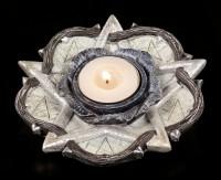 Alchemy Tealight Holder - Rose of Ostralanus