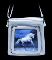 3D Schultertasche mit Einhorn - Moonlight Unicorn