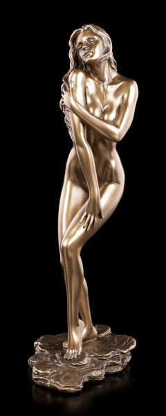 Female Nude Figurine - Strokes Shoulder