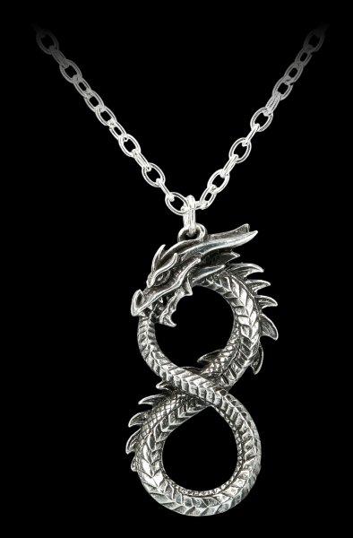 Alchemy Drachen Halskette - Infinity Dragon