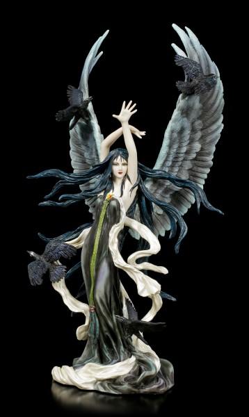 Angel Figurine - Faery of Ravens by Nene Thomas