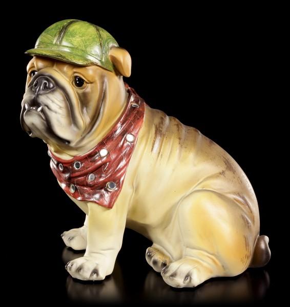 Curious Dog Figurine - Bulldog