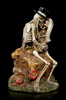 Skelett Figur - Love Never Dies - Love Rocks
