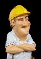 Funny Job Figur - Bauarbeiter mit Werkzeuggürtel