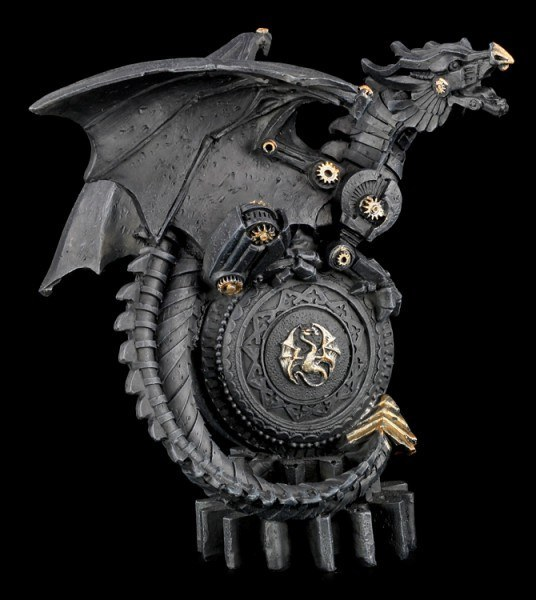 Steampunk Drachen Figur - The Mechanic