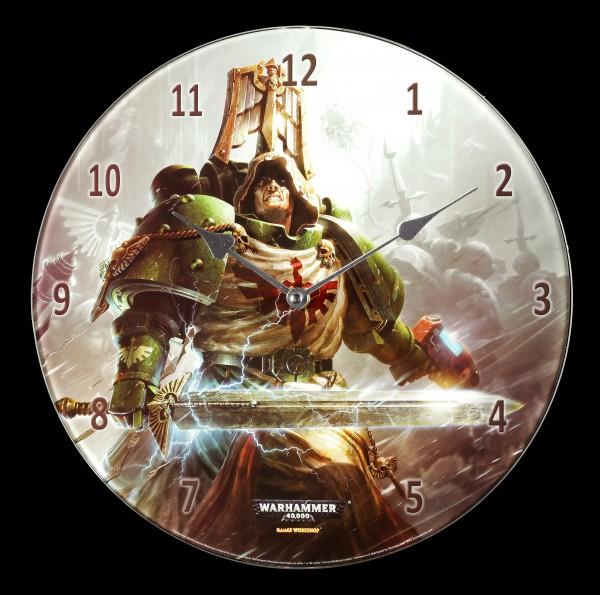 Glas Wanduhr Warhammer - Dark Angels