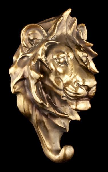 Kleiderhaken - Löwenkopf