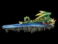 Räucherstäbchenhalter - Green Dragon