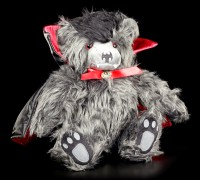 Plush Vampire Teddy - Ted the Impaler - With Backpack