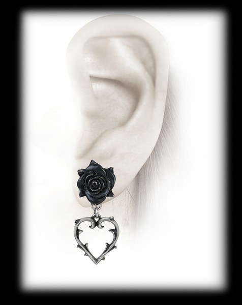 Wounded Love - Alchemy Gothic Earrings
